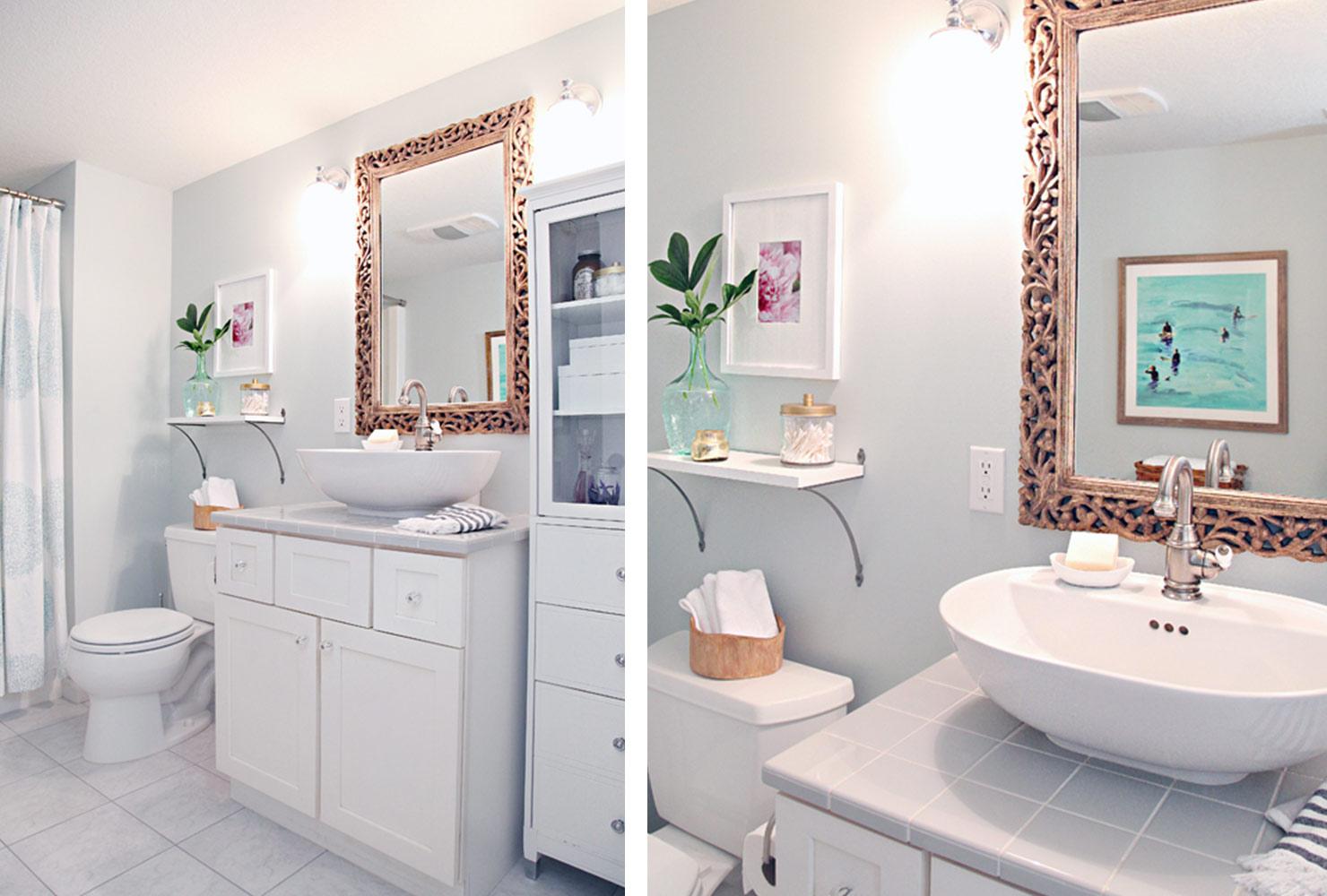 Small Bathroom Decorating Tips Green